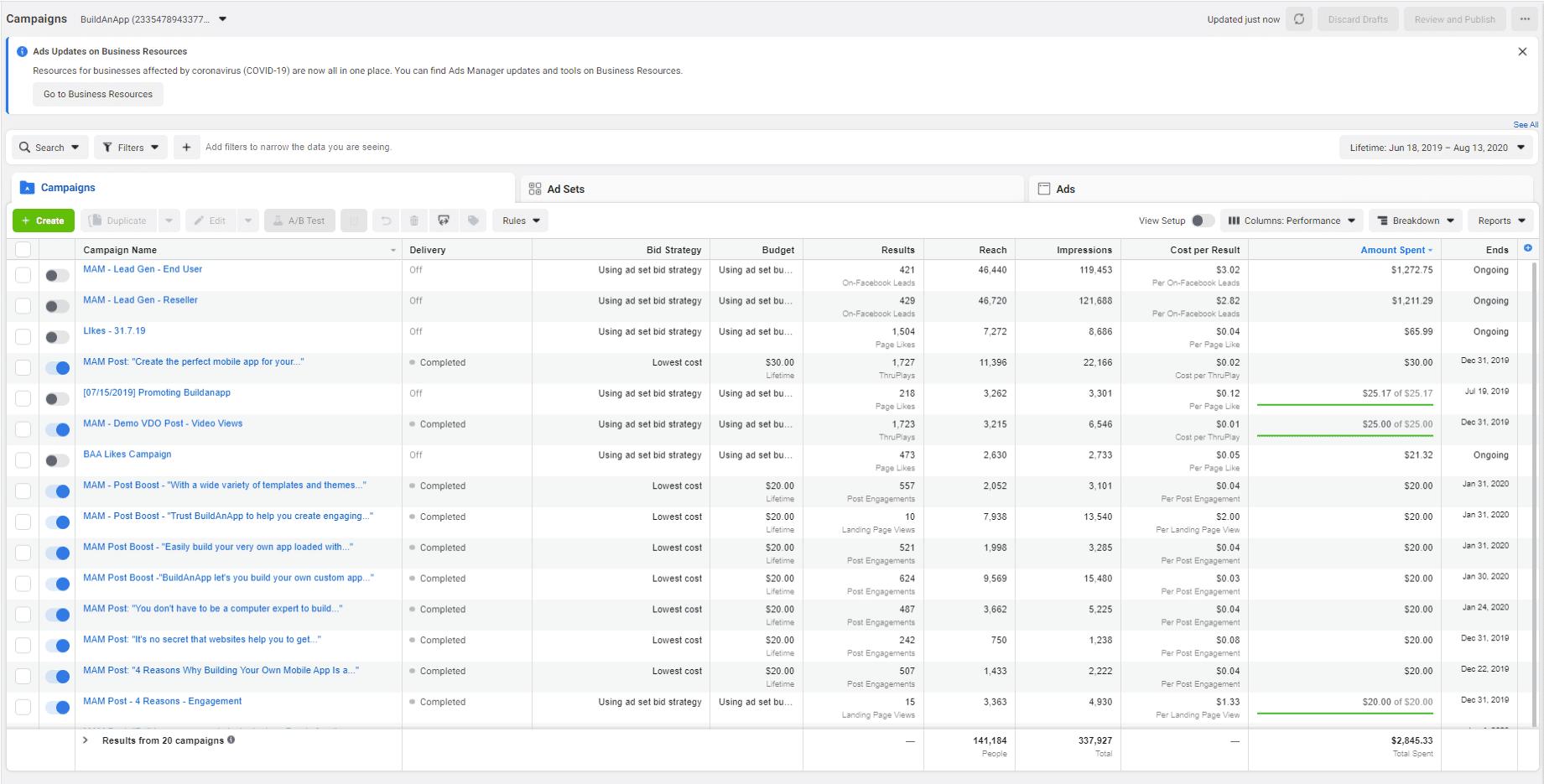BuildAnApp-Facebook
